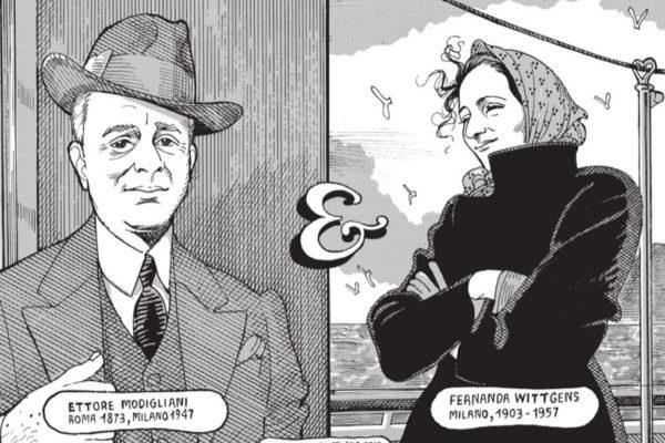 Una tavola della graphic novel 'Ettore e Fernanda'