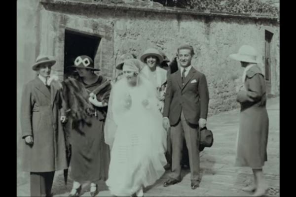 Un frame di un filmino raccolto dal progetto 'Mi ricordo'