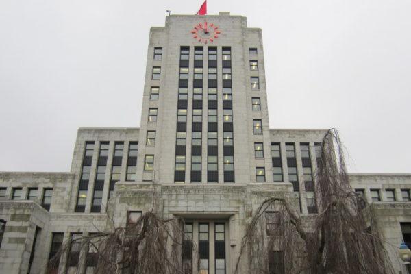 Il municipio di Vancouver in Canada