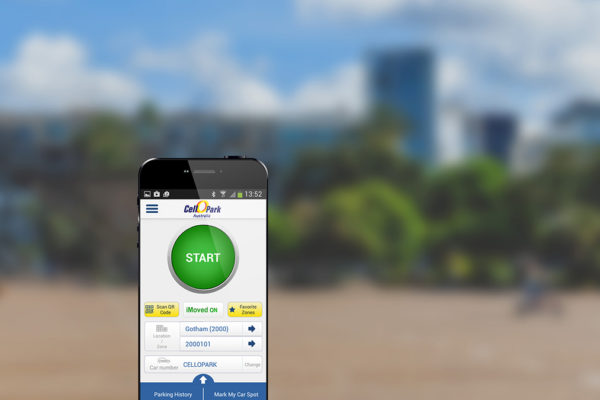 L'app Cellopark per trovare parcheggio in israele