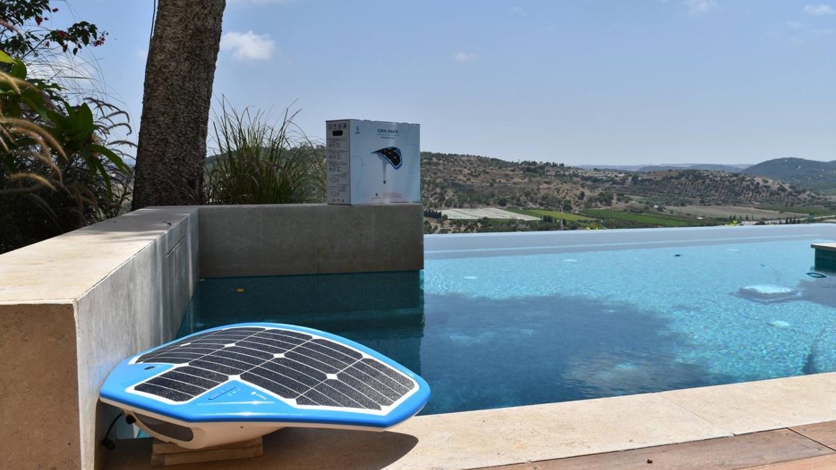 Coral Manta, la tecnologia israeliana contro gli annegamenti in piscina