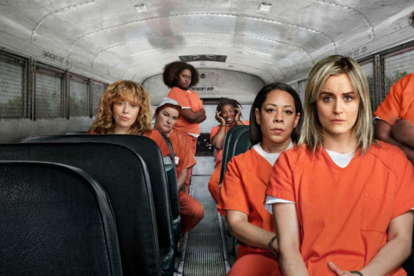 Le protagoniste della serie Netflix 'Orange is the new black'
