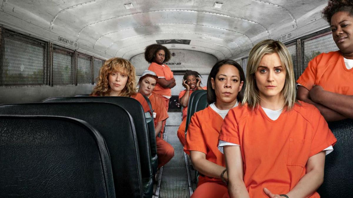 Le protagoniste della serie Netflix 'Orange is the new black'