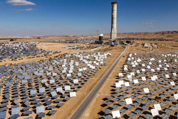 La Torre solare di Ashalim, nel Negev