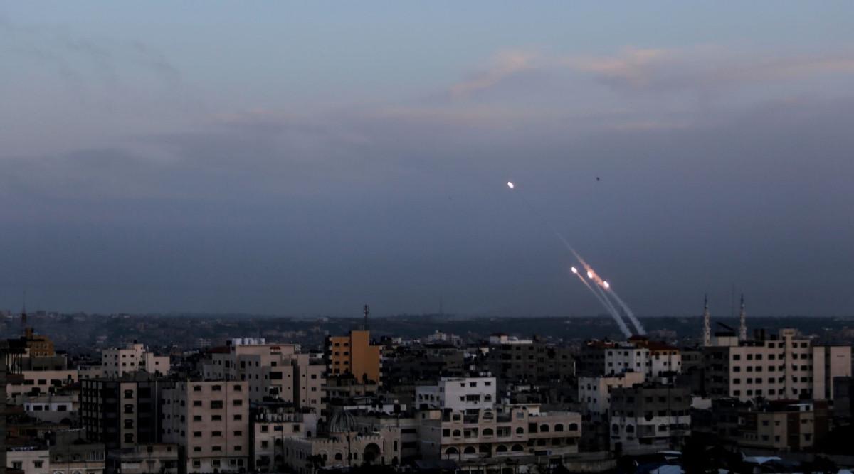 Missili da Gaza
