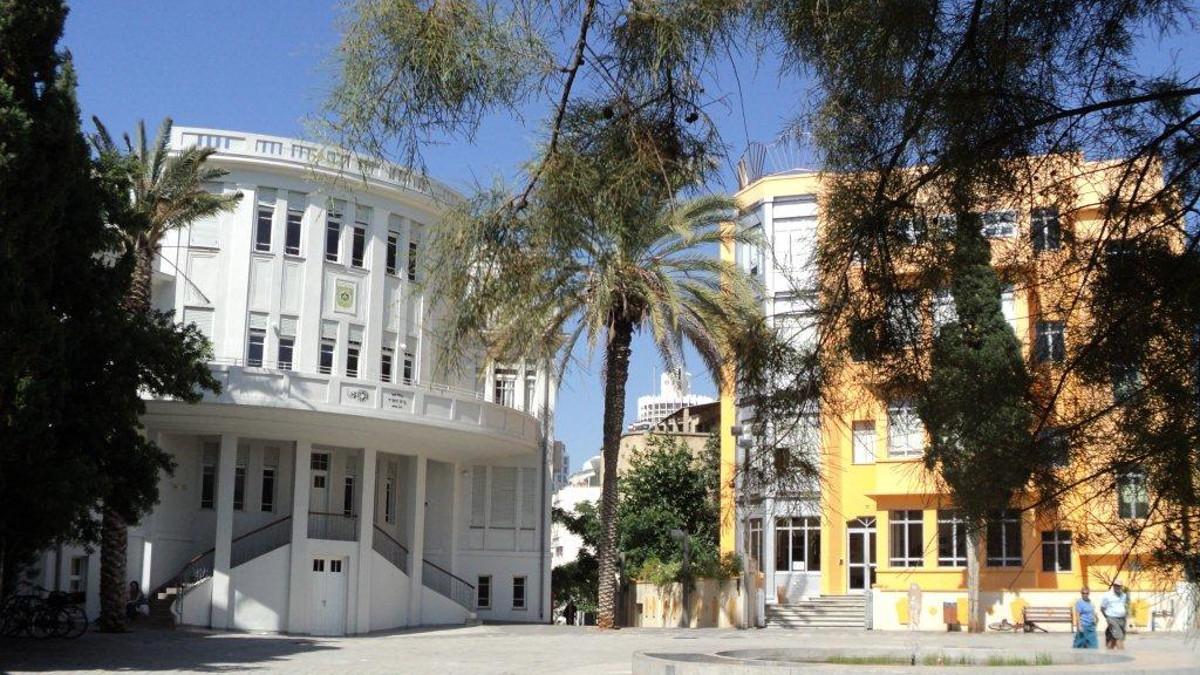 Bialik Square a Tel Aviv in stile Bauhaus