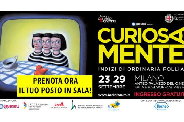 La locandina del festival Cinema&Cervello