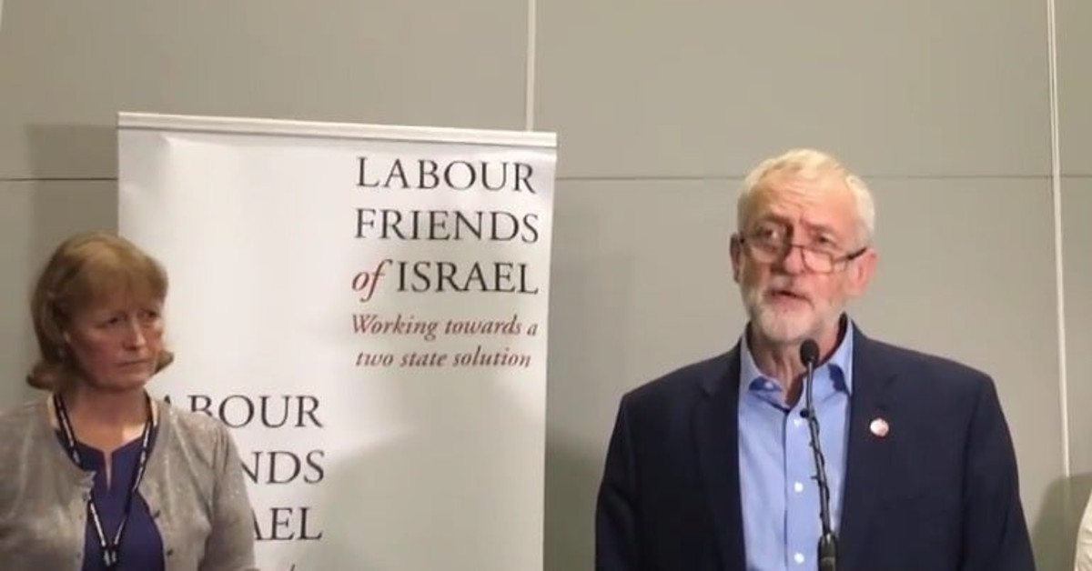 Labour Friends of Israel con Jeremy Corbyn