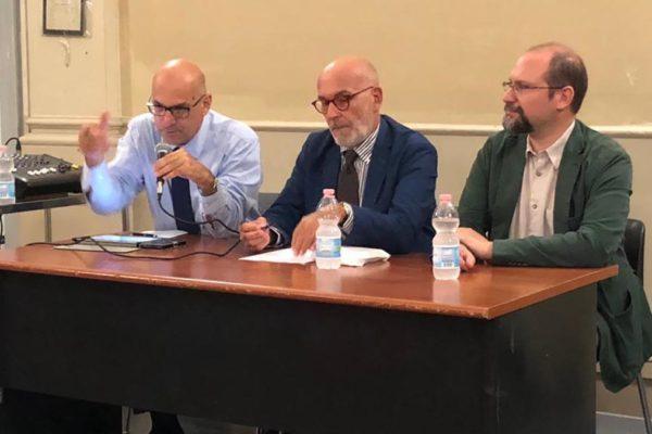 I relatori della serata su Israele e mondo arabo