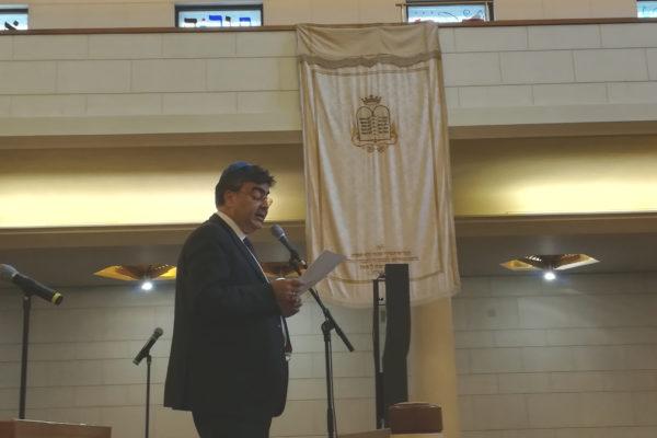 Emanuele Fiano alla Giornata europea della cultura ebraica ha parlato del sogno della fratellanza