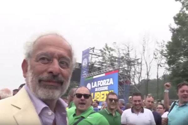 Gad Lerner a Pontida insultato dai sostenitori della Lega