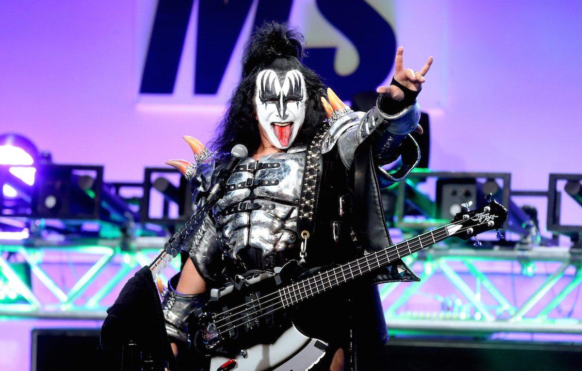 Gene Simmons, cantante dei Kiss