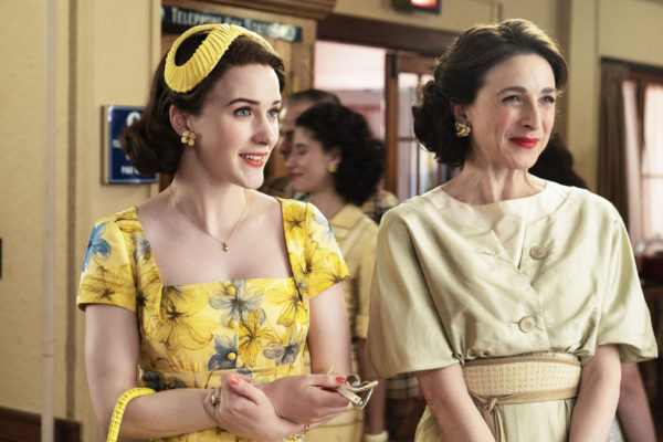Un'immagine della terza stagione di The Marvellous Mrs Maisel su Amazon Prime Video