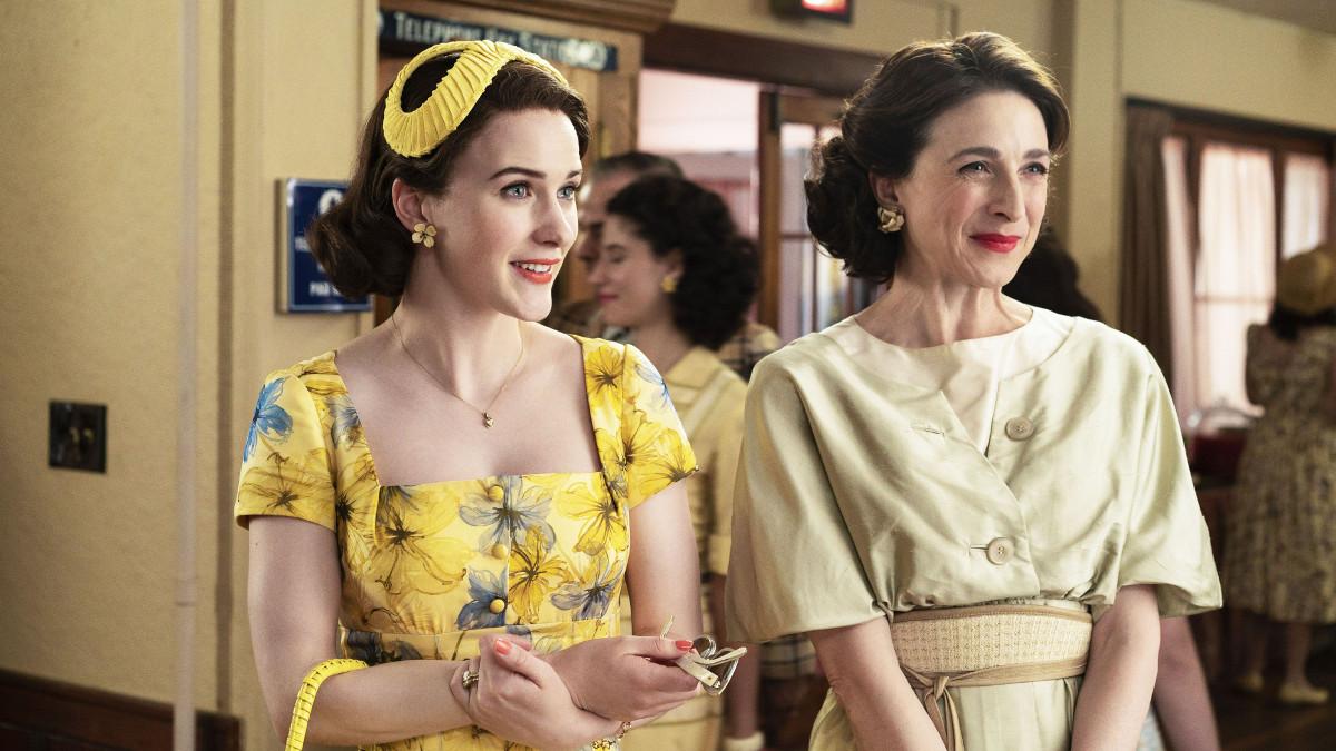 Un'immagine della terza stagione di The Marvellous Mrs Maisel su Amazon Prime Video