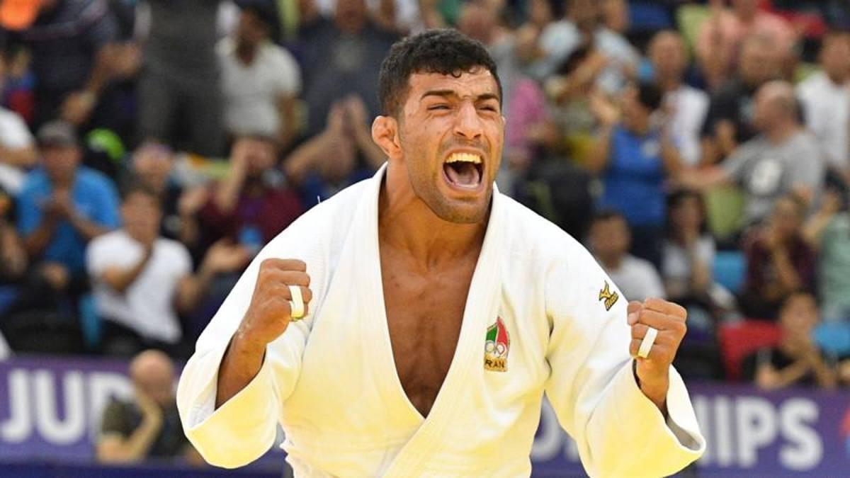 Il campione di judo dell'Iran Saeid Mollaei