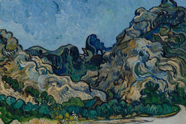 """Van Gogh """"Montagne a saint-Remy"""""""