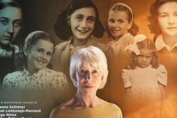 "La locandina del documentario ""#AnneFrank. Vite parallele"""