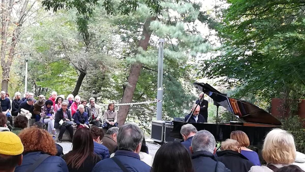 concerti all'inaugurazione del Giardino dei Giusti