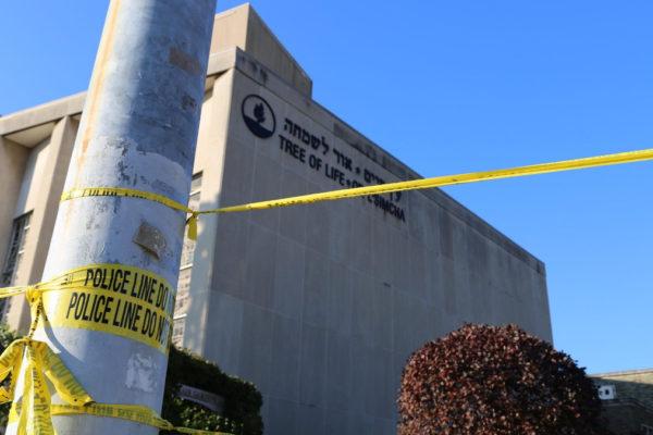La sinagoga di Pittsburgh chiusa dopo l'attentato del 2018