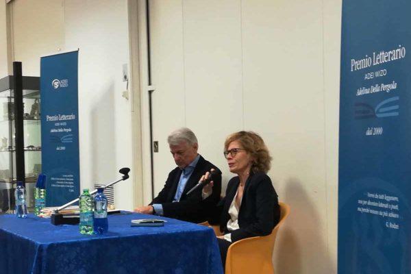 Daniela dawan e Ferruccio de Bortoli a Bookcity