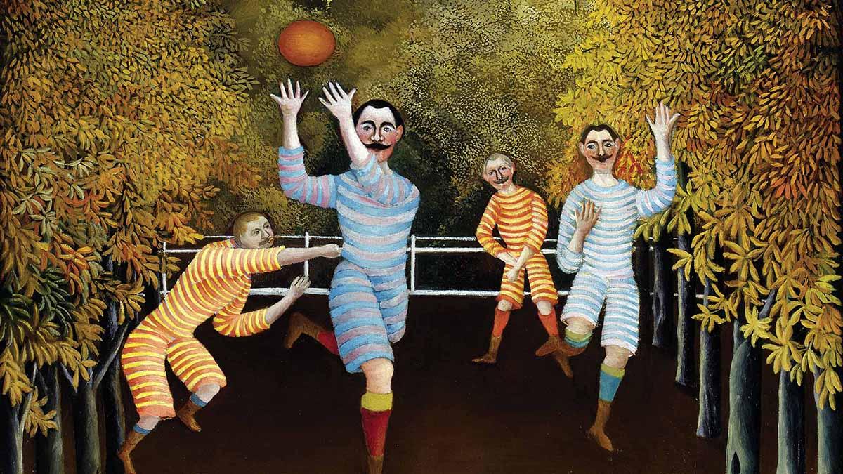 I giocatori di football di Henri Rousseau
