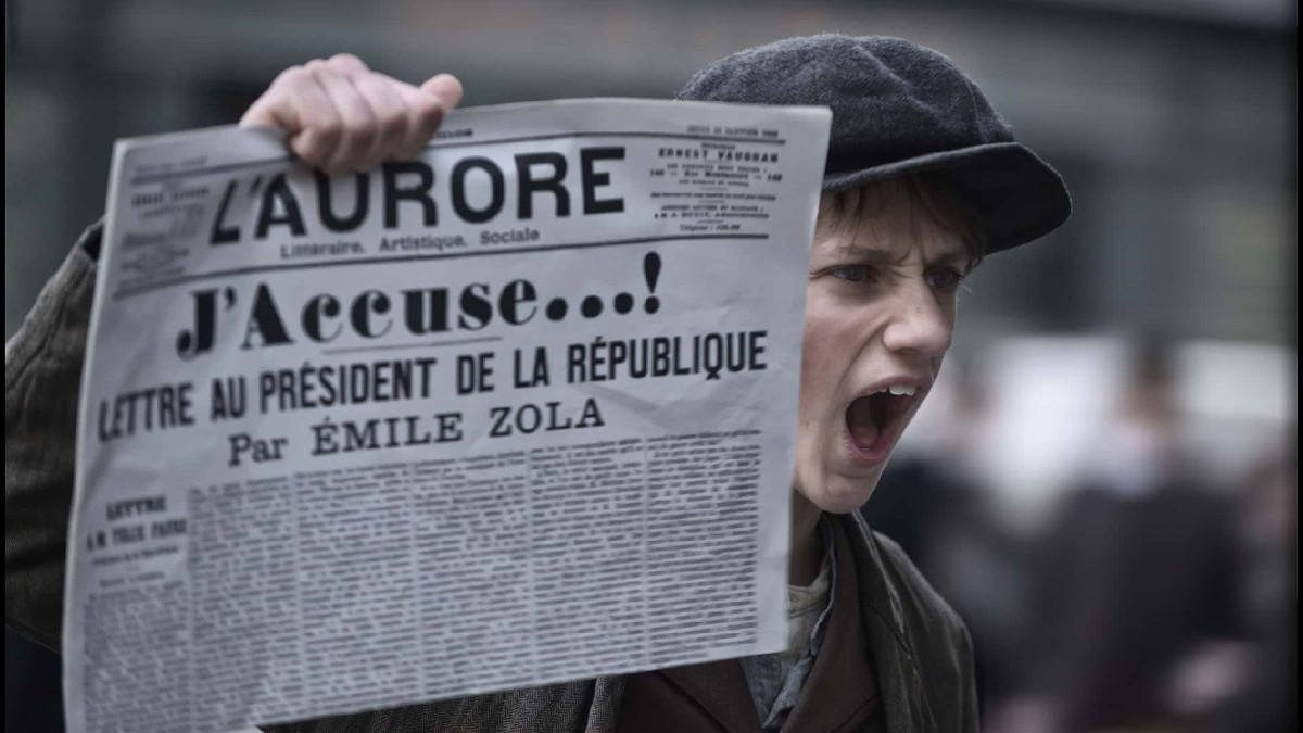 Una scena di J'accuse, il film di Polanski sul caso Dreyfus
