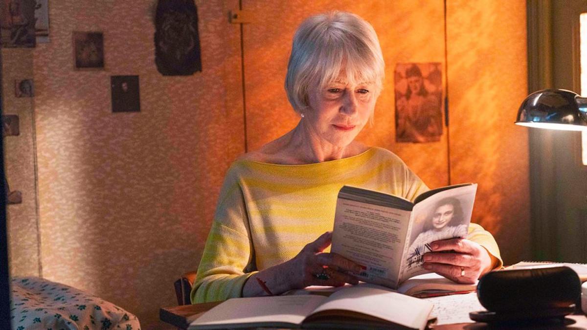 hellen Mirren nel docufilm #Anne Frank. Vite parallele