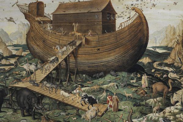 Noach con l'arca