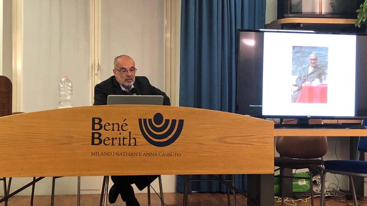 Alessandro Viterbo di Tsad Kadima, associazione che si occupa di bambini con disabilità