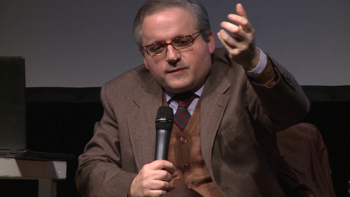 Claudio Vercelli all'incontro su populismi, neofascismi e antisemitismi