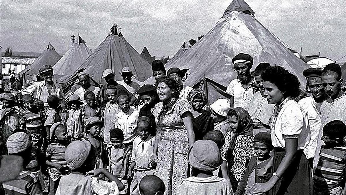Ebrei yemeniti in fuga