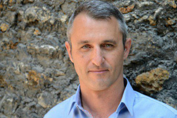 Lo scrittore israeliano Eshkol Nevo