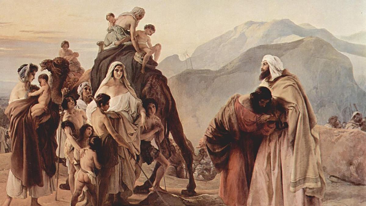 Giacobbe ed Esaù di Francesco Hayez