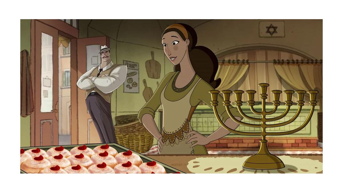 Il cortometraggio 'Hanukkah-La festa delle luci' in onda il 22 dicembre su Rai Gulp
