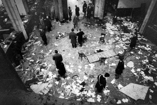 La strage di piazza Fontana del 12 dicembre 1969