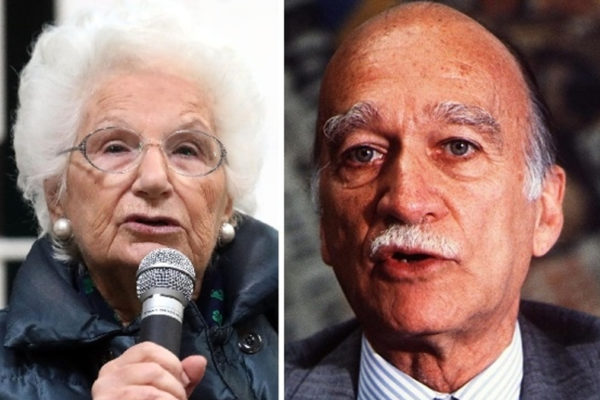 Da sinistra, Liliana Segre e Giorgio Almirante
