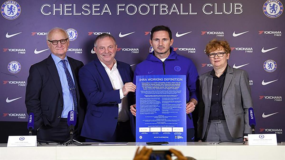 Il club del Chelsea adotta la definiozione di antisemitismo dell'IHRA