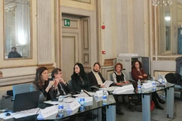 I relatori del convegno all'Università Statale sul linguaggio dell'odio