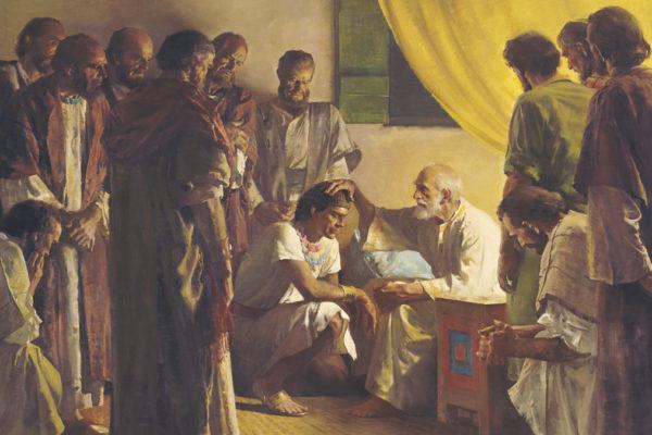 Giacobbe benedice i suoi figli