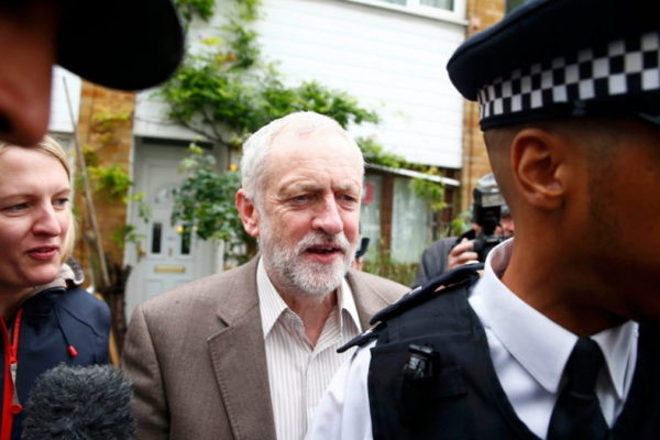 Jeremy Corbyn, leader del Labour Party