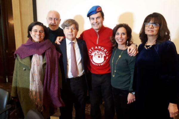 I docenti della Scuola alla premiazione del Premio Campioncino