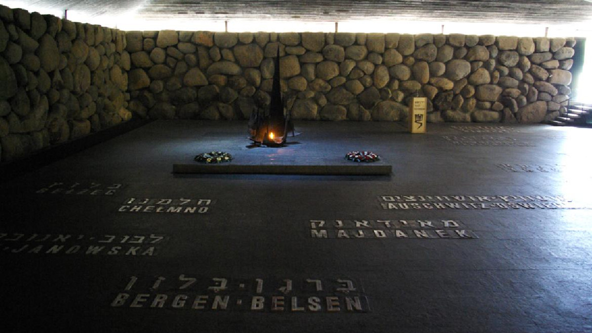 Il Memoriale della Shoah Yad Vashem a Gerusalemme