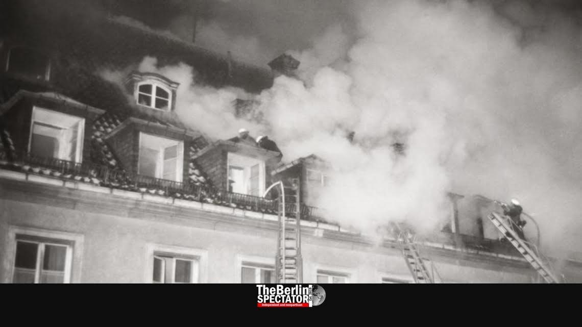 L'incendio alla casa di riposo ebraica nel 1970 a Monaco