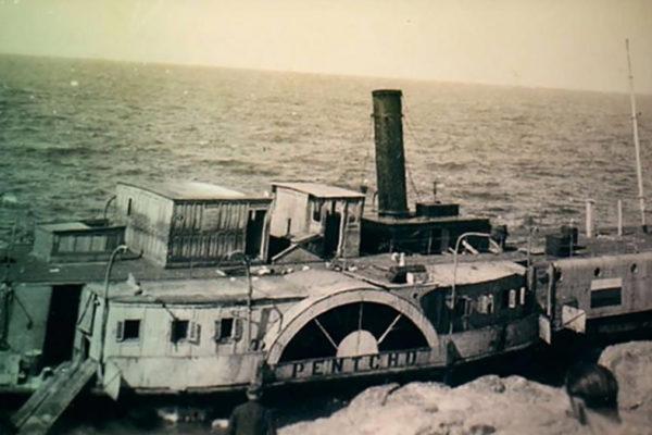 La nave Pentcho
