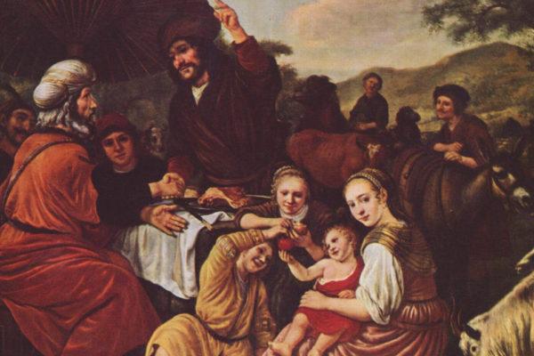 Mosé e Yitrò (Jan Victors, 1635)