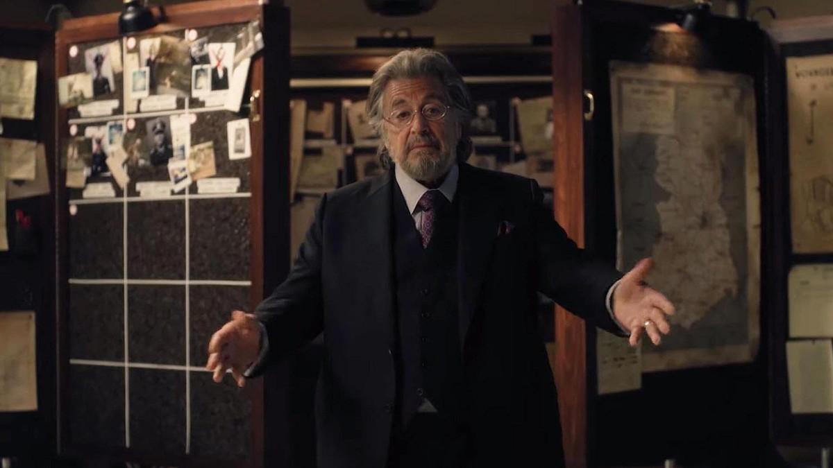 Al Pacino nella serie tv 'Hunters' di Amazon