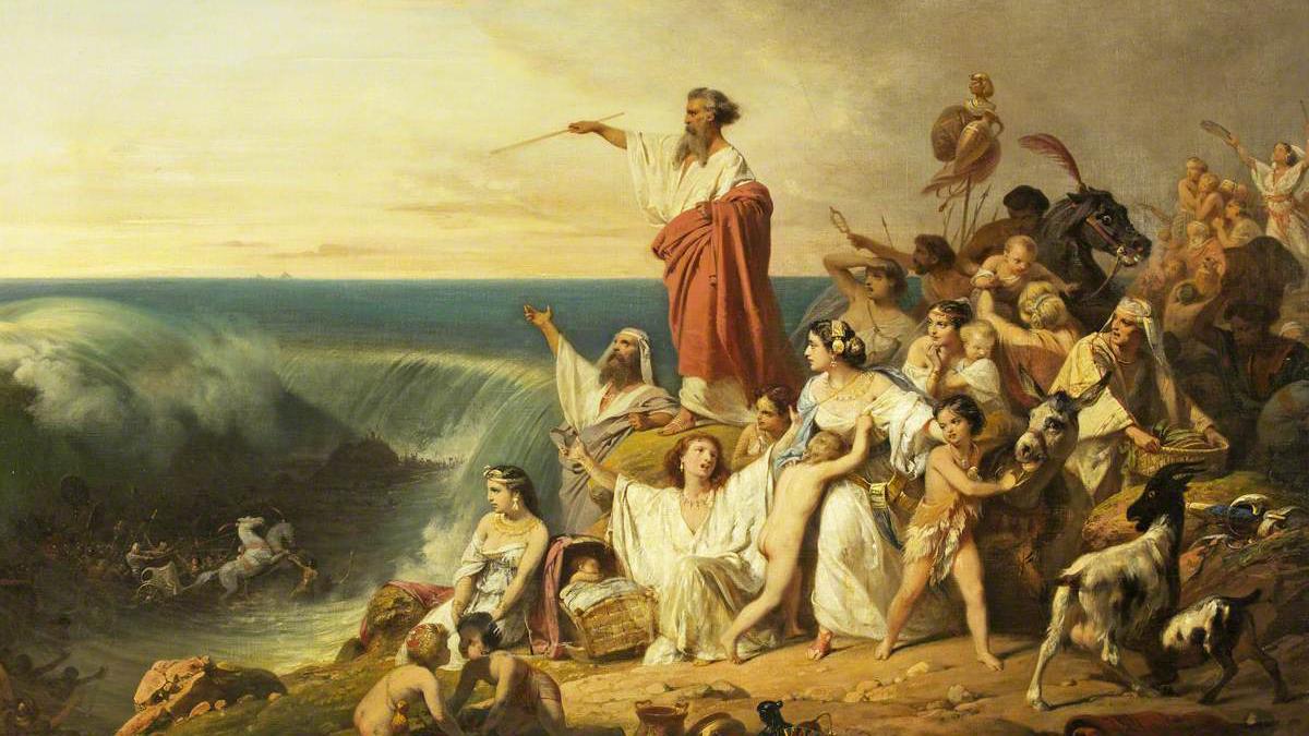 L'apertura del Mar Rosso
