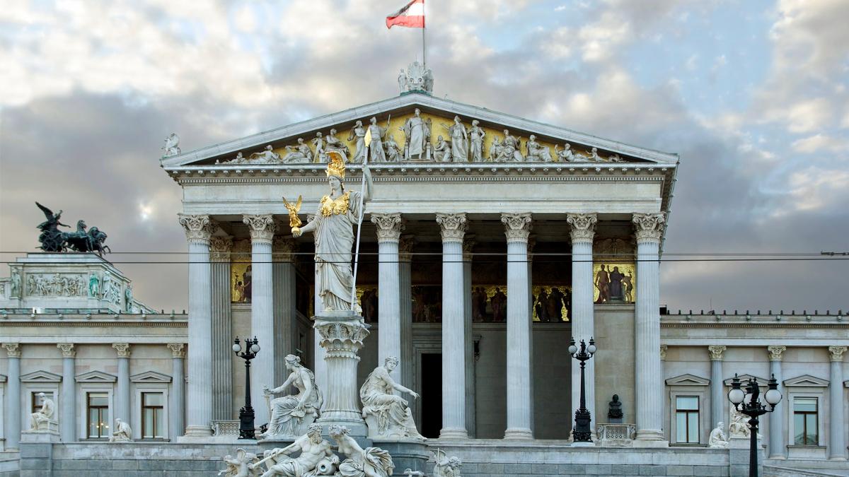 Il Parlamento austriaco a Vienna