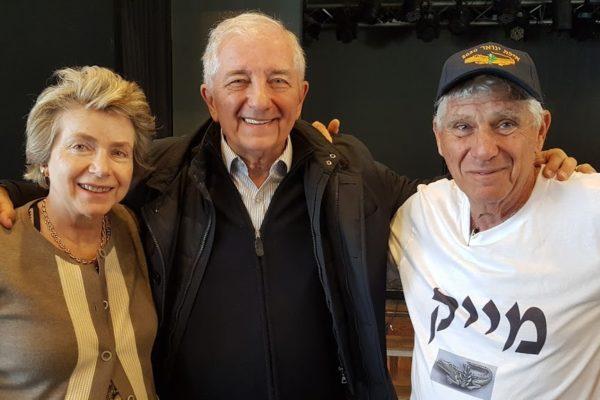Jossi Oskar e la moglie Viviana con Mike