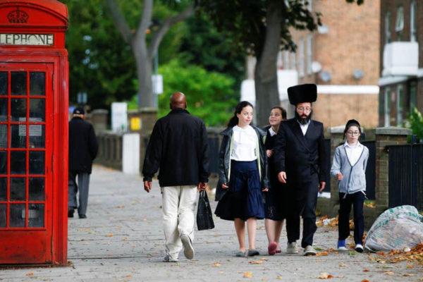 Una famiglia ortodossa nel Regno Unito